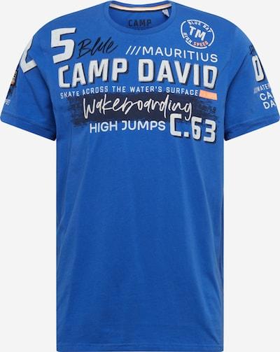 CAMP DAVID Tričko - modré / tmavomodrá / biela, Produkt