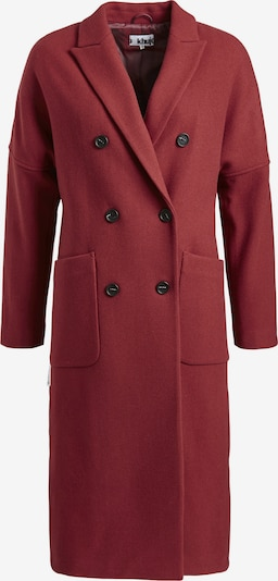 khujo Manteau mi-saison 'Franji' en rouge feu, Vue avec produit