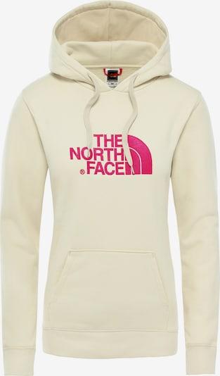 THE NORTH FACE Hoodie 'Drew Peak W' in beige / pink, Produktansicht