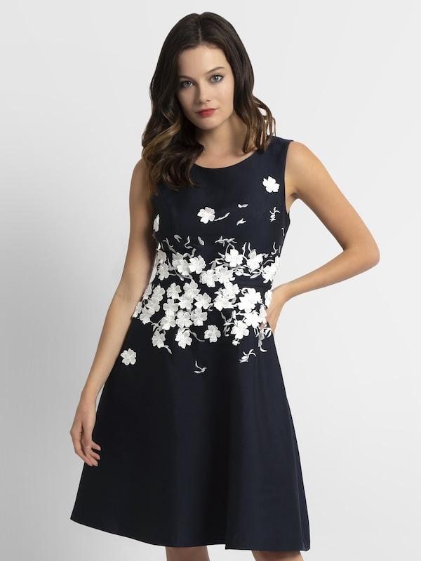 APART Kleid in kobaltblau   weiß    Freizeit, schlank, schlank c5472a