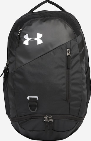 UNDER ARMOUR Sports Backpack 'Hustle 4.0' in Black