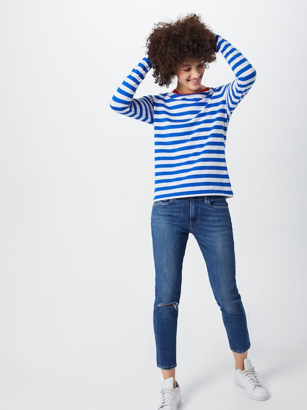 Ralph Polo Lauren Shirt BlauwWit In xBeCdor