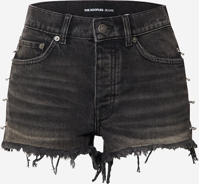 The Kooples Jeans 'SHORT' in black denim, Produktansicht