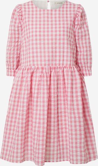 Love Copenhagen Jurk 'Gina' in de kleur Pink / Wit, Productweergave