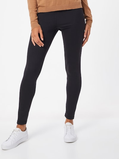 basic apparel Leggings 'Laila' in de kleur Zwart: Vooraanzicht