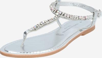 Dorothy Perkins Japonki 'JULES' w kolorze srebrnym, Podgląd produktu