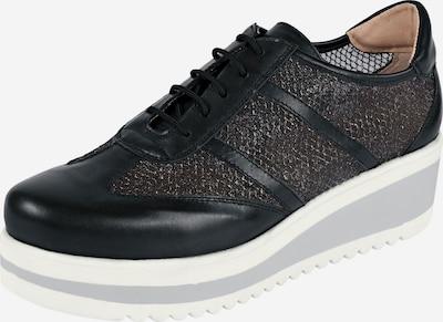 heine Sneaker in schwarz: Frontalansicht