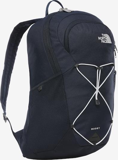 THE NORTH FACE Rucksack 'Rodey' in nachtblau / weiß, Produktansicht