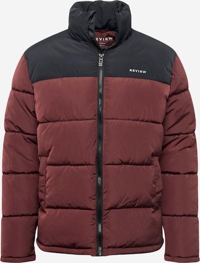 Žieminė striukė 'BLOCKED PUFFA BP' iš Review , spalva - uogų spalva / juoda, Prekių apžvalga