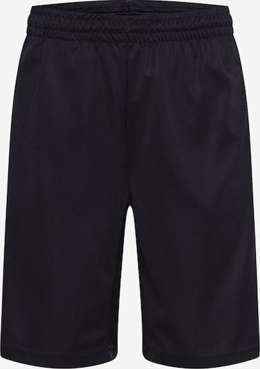 Pantaloni 'Hitoshi' DIESEL pe negru: Privire frontală