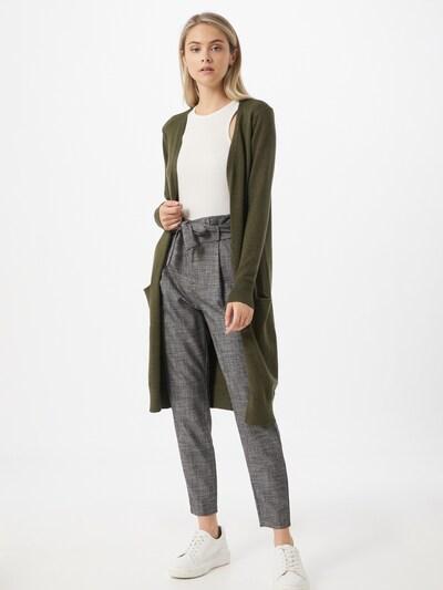 JACQUELINE de YONG Strickjacke 'MARCO' in khaki, Modelansicht