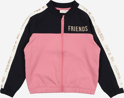 NAME IT Sweatjacke in rosa, Produktansicht