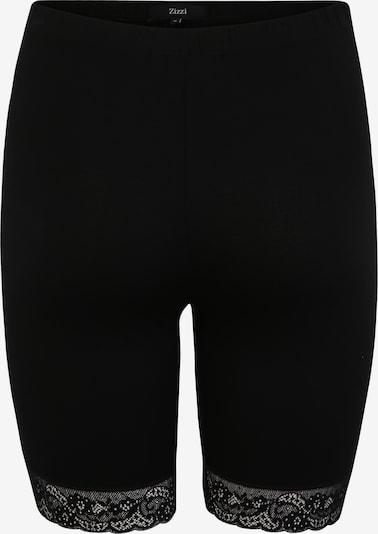 Zizzi Hlače | črna barva, Prikaz izdelka