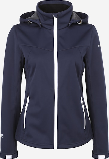 ICEPEAK Outdoorjas in de kleur Marine, Productweergave