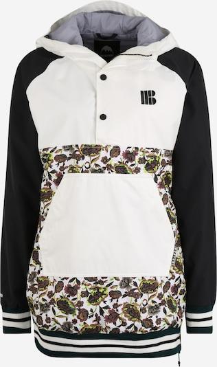 BURTON Veste outdoor 'Loyle' en mélange de couleurs / noir / blanc, Vue avec produit