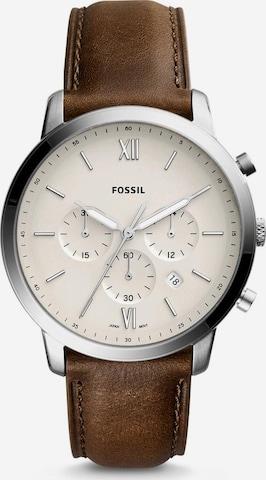 FOSSIL Analog Watch 'Neutra Chrono, FS5380' in Brown