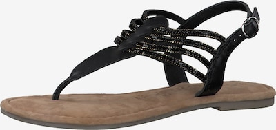 Šlepetės per pirštą iš TAMARIS , spalva - juoda, Prekių apžvalga