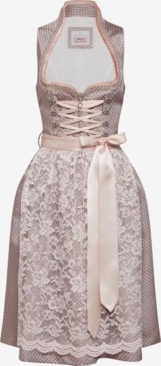 Rochițe tiroleze 'Randa' MARJO pe bej / roz: Privire frontală