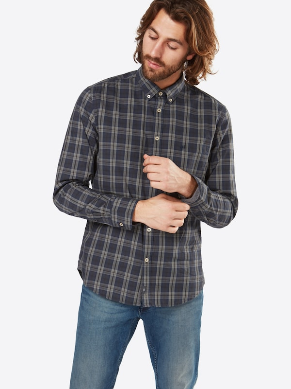 Marc O'Polo Hemd 'Button dow n,long sleeve,chest pocket,con 100CO'