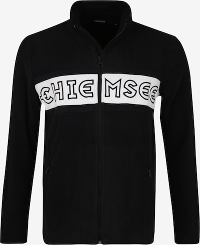 Bluză cu fermoar sport CHIEMSEE pe negru, Vizualizare produs