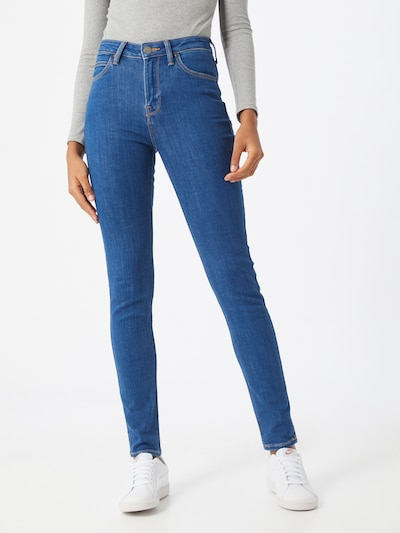 Lee Jeans 'Scarlett High' in blue denim, Modelansicht