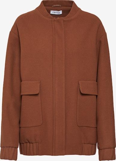 Demisezoninė striukė 'Nalan' iš EDITED , spalva - ruda: Vaizdas iš priekio