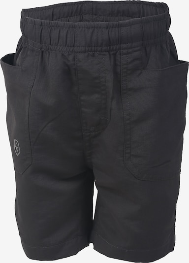 COLOR KIDS Outdoorshorts 'Nudo' in anthrazit: Frontalansicht