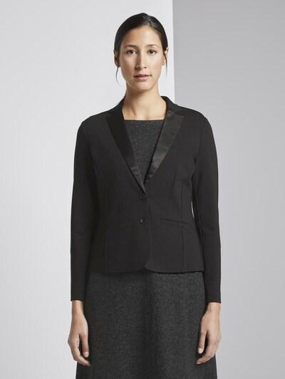 TOM TAILOR Blazers in de kleur Zwart, Modelweergave