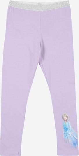 NAME IT Leggings 'FROZEN SASKIA' in blau / lila / silber, Produktansicht