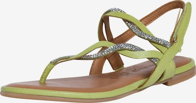 TAMARIS T-bar sandals in Light green / Silver, Item view