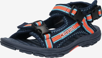 KAPPA Sandale in navy / koralle, Produktansicht
