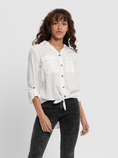 ONLY Blouse in de kleur Wit, Modelweergave
