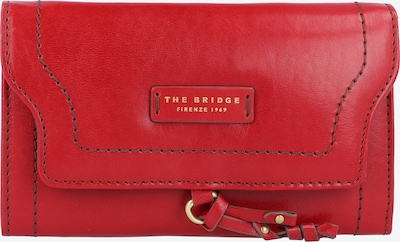 The Bridge Elba Geldbörse Leder 17 cm in feuerrot, Produktansicht