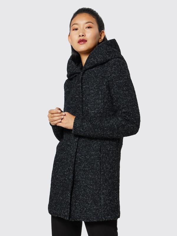TOM TAILOR Wollmantel »Mantel aus Wollgemisch mit Taschen