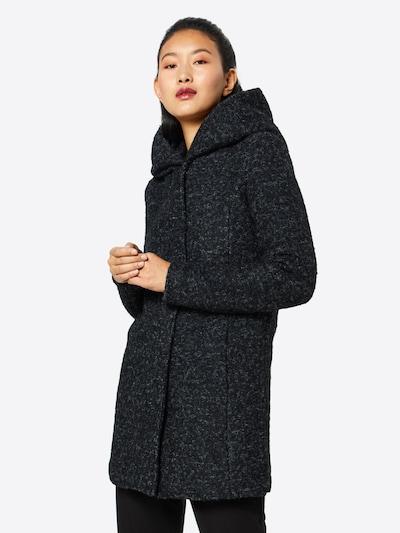 ONLY Mantel in schwarzmeliert, Modelansicht