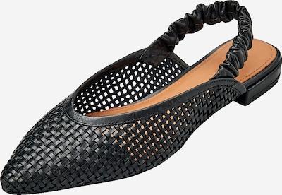 EDITED Ballerina 'Gotje' in schwarz, Produktansicht
