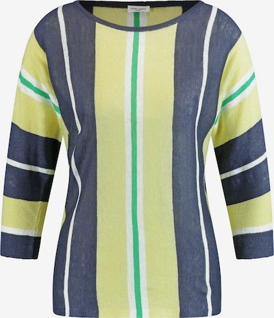 GERRY WEBER Pullover 3/4 Arm Rundhals Pullover mit Längsstreifen in mischfarben, Produktansicht