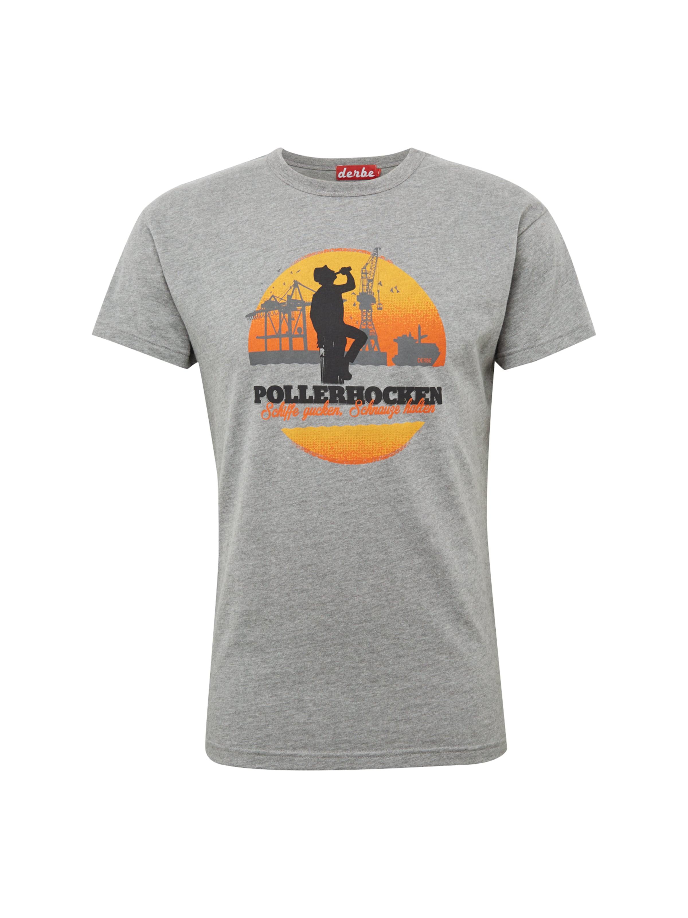 Gris shirt En Derbe T 'pollerhocken' 54Rj3AL