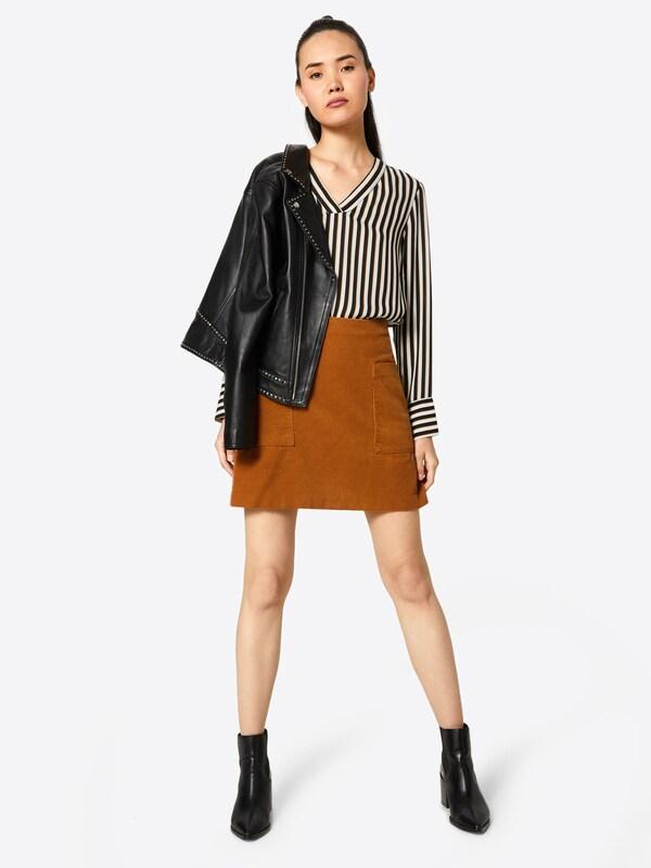 En Ocre Short Jupe Vila 'vilusi Skirt' kZiPXuOT
