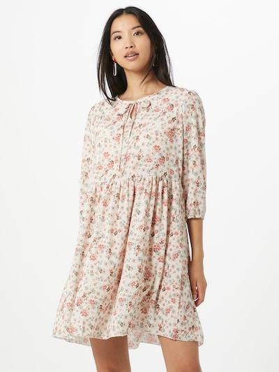Hailys Letní šaty 'Ria' - pastelová modrá / světle růžová / offwhite, Model/ka