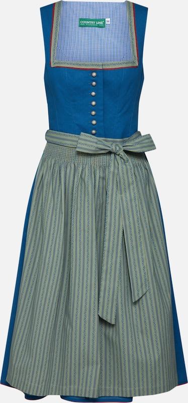 Bleu Line Country Robe En Robe Line Country kZuPXlwiTO