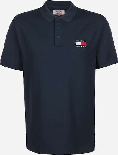 Tommy Jeans Poloshirt 'BADGE' in schwarz, Produktansicht