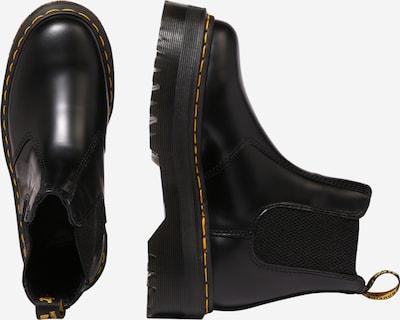 Dr. Martens Chelsea čizme u žuta / crna: Pogled sa strane