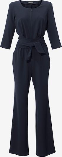 Kombinezono tipo kostiumas iš heine , spalva - tamsiai mėlyna jūros spalva, Prekių apžvalga