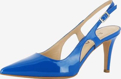 EVITA Sling Pumps in blau, Produktansicht