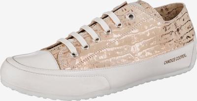 Candice Cooper Sneakers in gold / weiß, Produktansicht