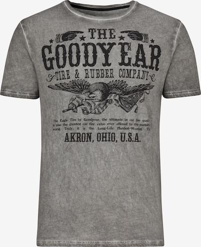 GOODYEAR T-Shirt KOKOMO in Vintage-Optik in anthrazit, Produktansicht