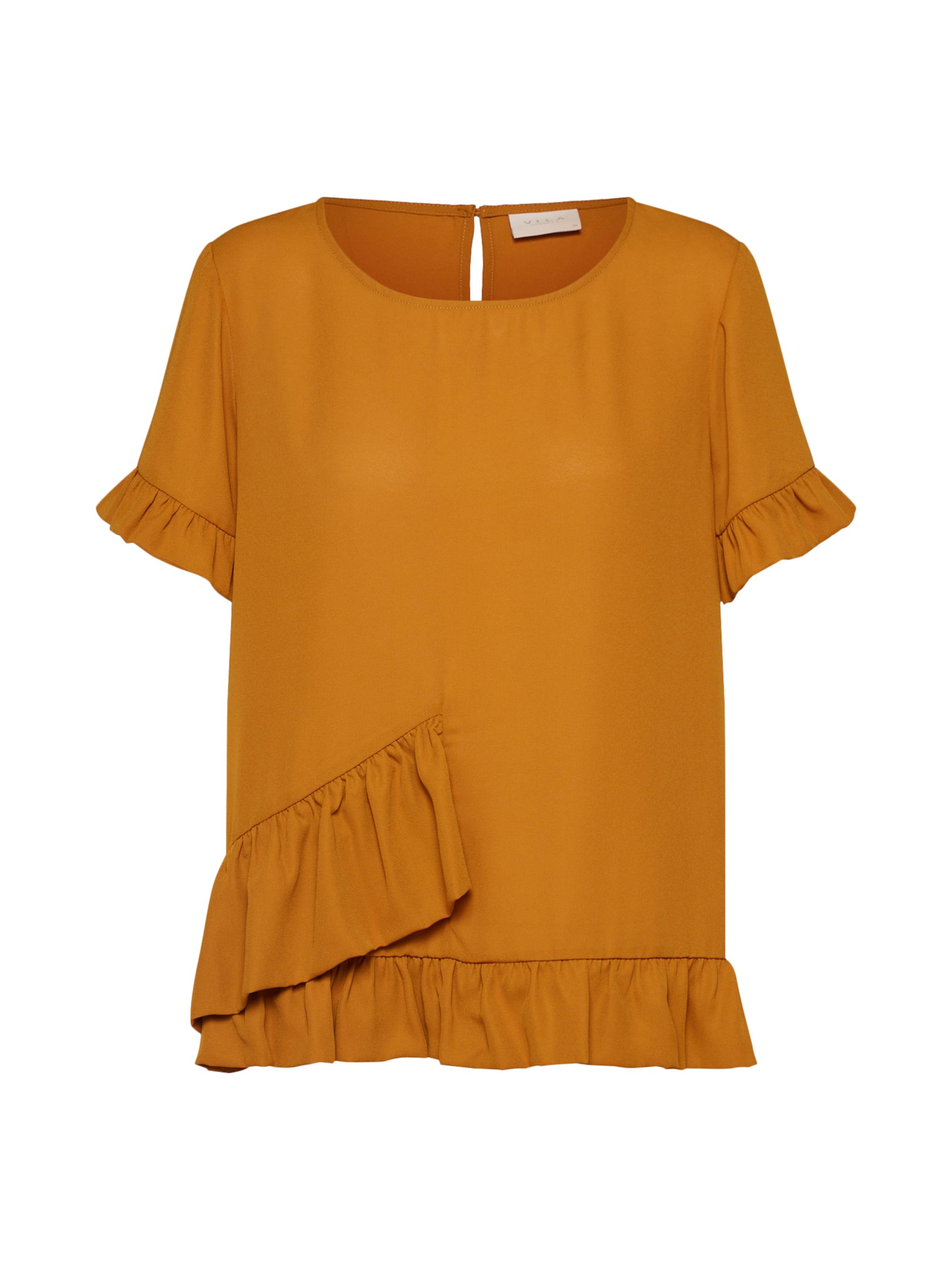 Vila T Foncé Orange shirt En l35uKJcF1T