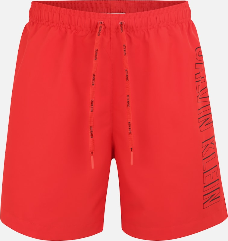 Calvin Rood In Klein Swimwear Zwemshorts kXOP8n0w