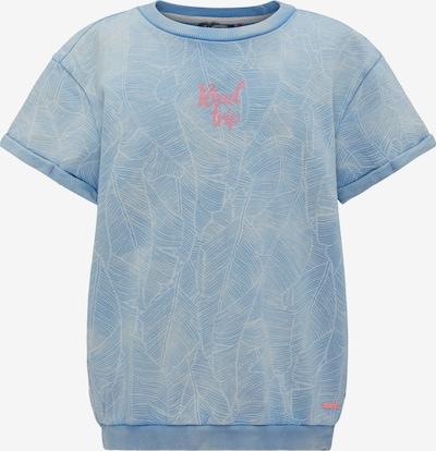 Petrol Industries Sweater in rauchblau / rosa, Produktansicht
